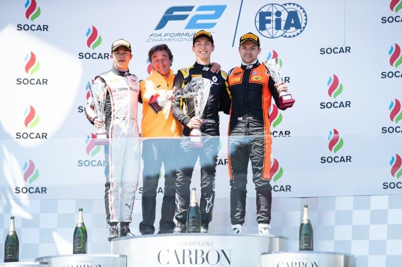 Baku - Feature Race Podium - 2019