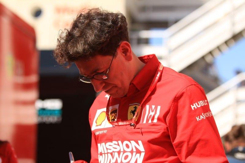 Binotto - Ferrari - Monaco