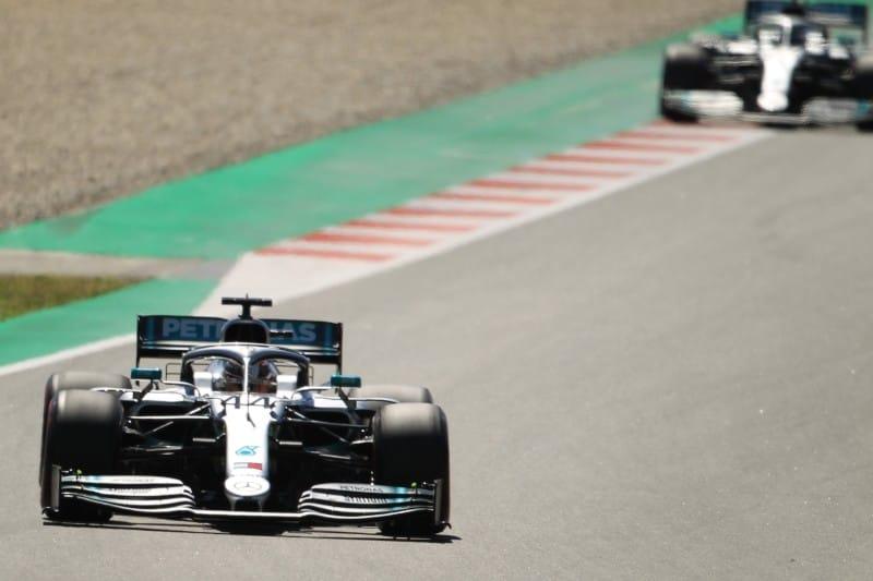 Hamilton - Bottas - Mercedes - Spain Race