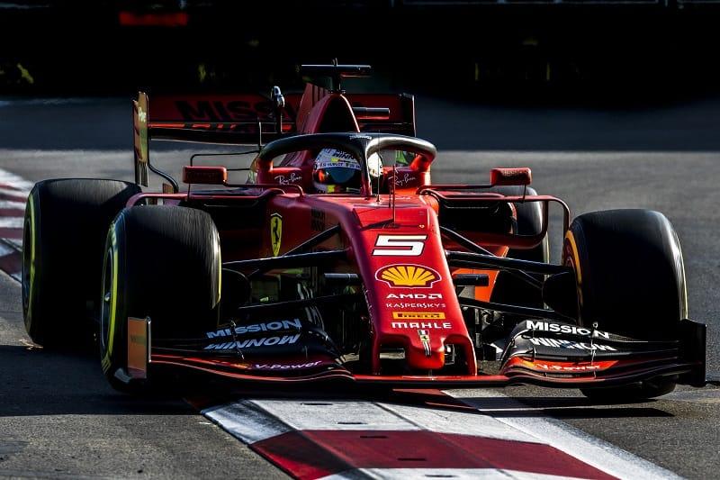 Sebastian Vettel - Scuderia Ferrari Mission Winnow - Baku City Circuit