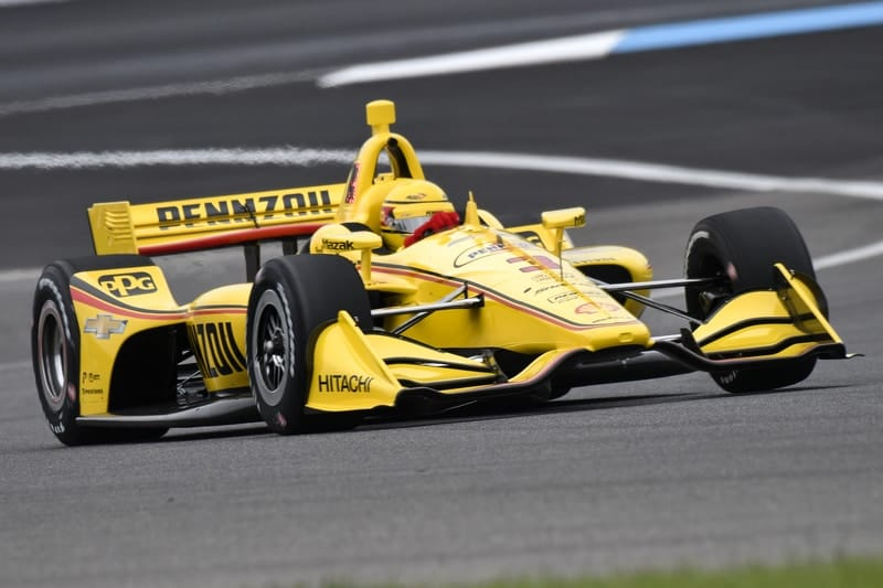 Helio Castroneves (BRA),, Team Penske 2019 NTT IndyCar Series, Indianapolis GP