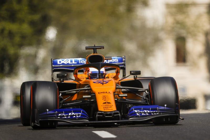 Carlos Sainz - McLaren F1 Team at the 2019 Formula 1 Azerbaijan Grand Prix - Race