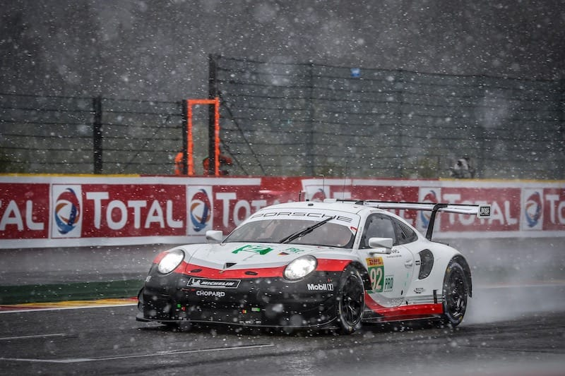 Porsche secured the World Endurance GTE Manufacturers' Championship in Spa and are looking set to claim all GTE Pro and Am championships at the end of the season.