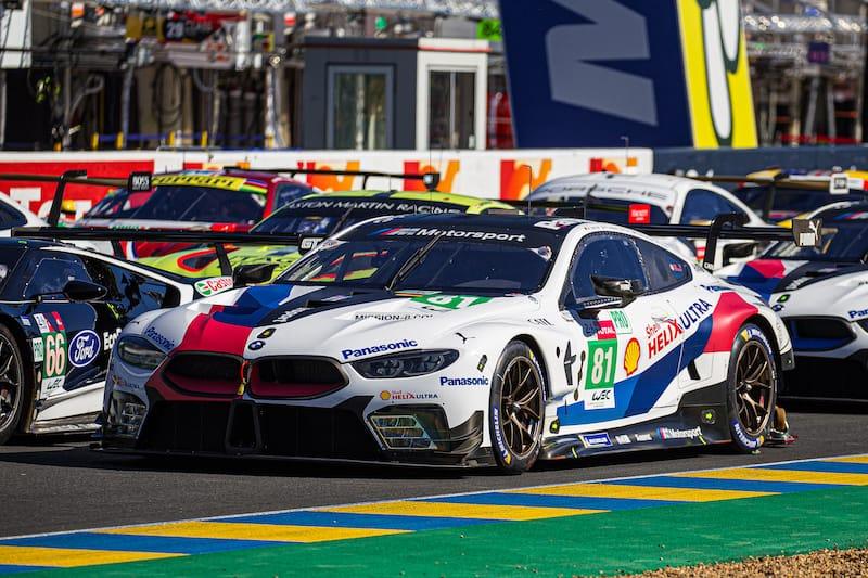 The BMW Team MTEK #81 LM GTE Pro entry Le Mans 2019