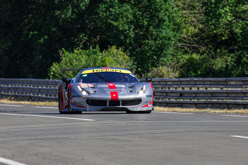 The Spirit of Race #54 LM GTE Am entry for the 2019 24 Hours of Le Mans