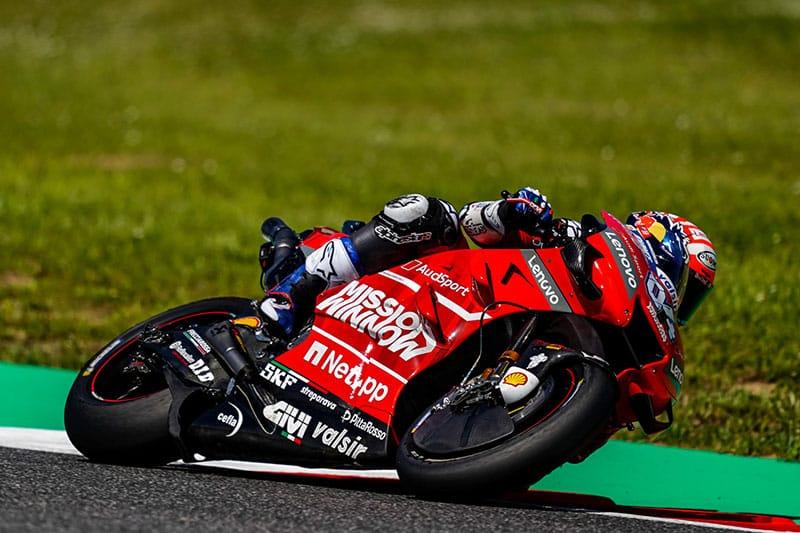 Dovizioso seeks corner speed improvement