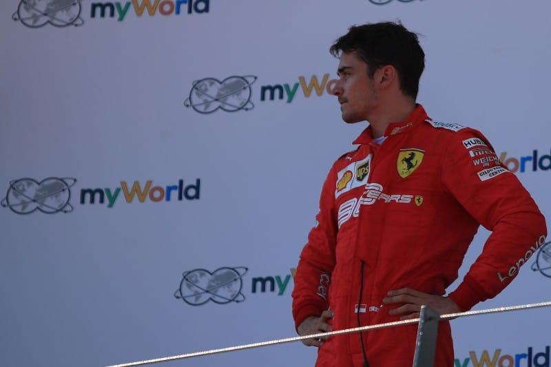 Ferrari - Leclerc - Austria