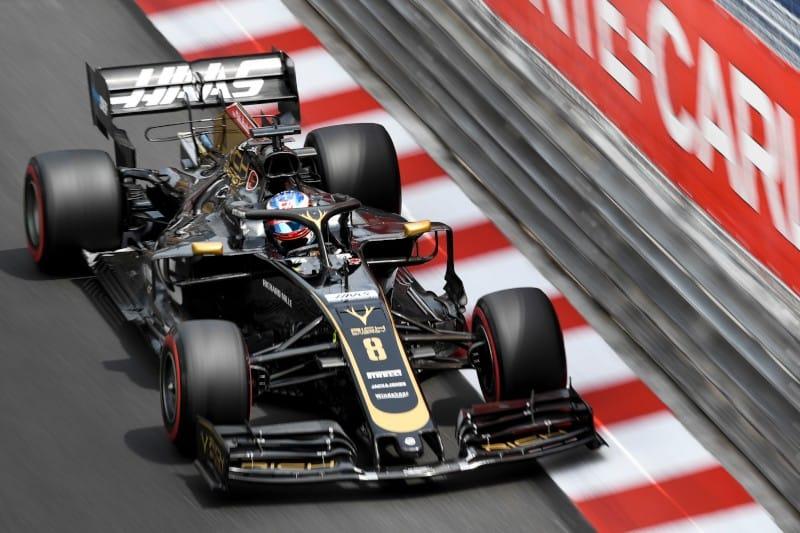 Grosjean Monaco - F1 2019