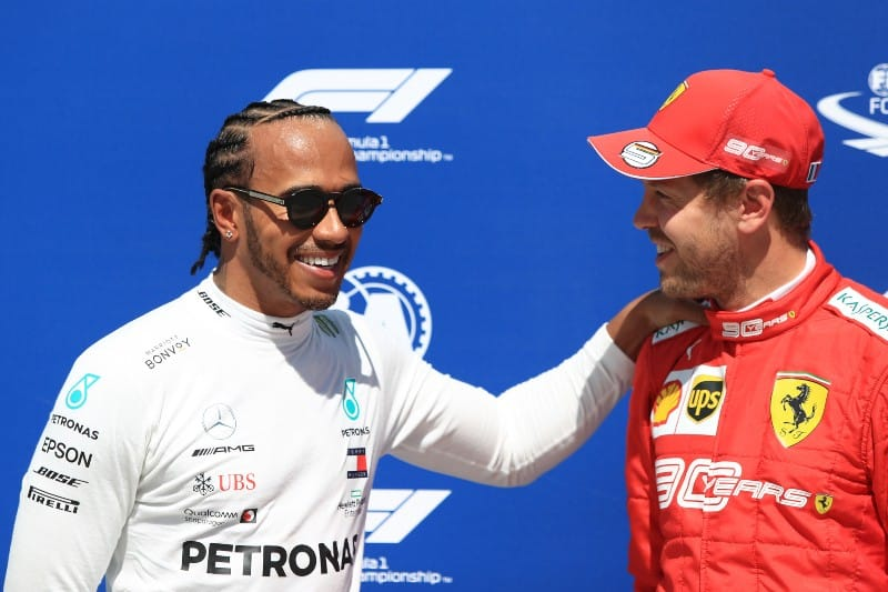 Hamilton - Vettel - Qualifying - Canada