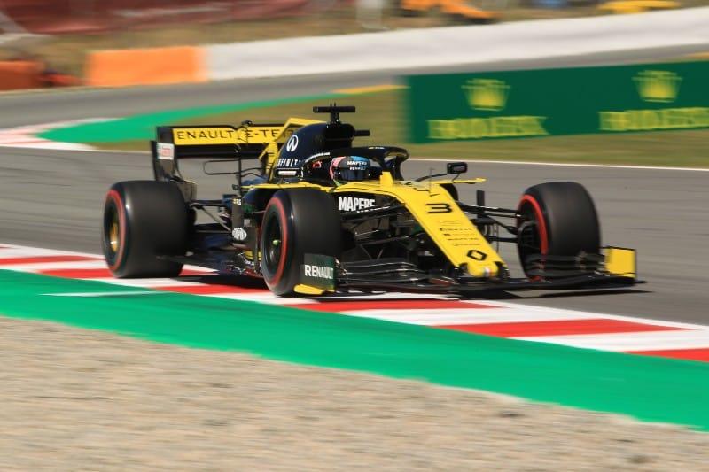 Ricciardo - Renault - Spain