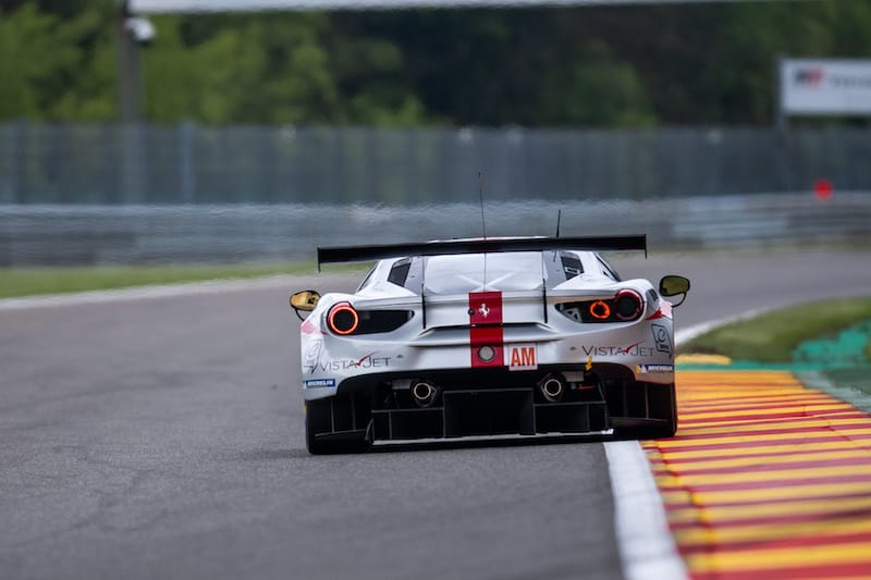 The Am class is the biggest class on this year's WEC grid, with 11 cars.