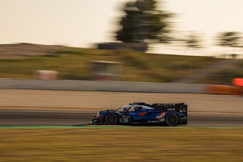 Signatech Alpine finished the session third in class