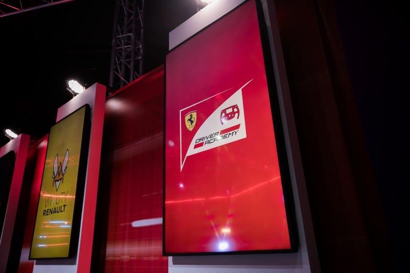 Ferrari - F1 Esports - Logo