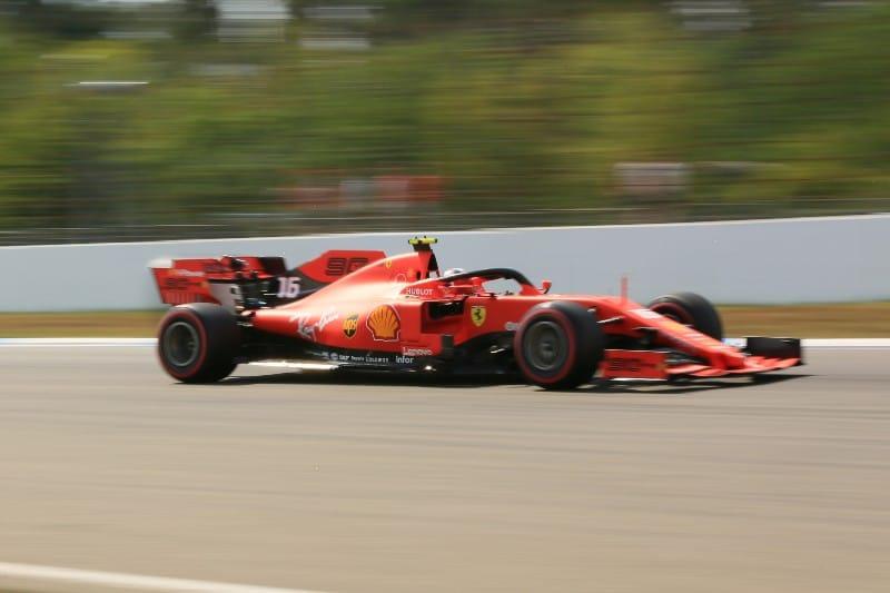 Leclerc - Ferrari - German FP3