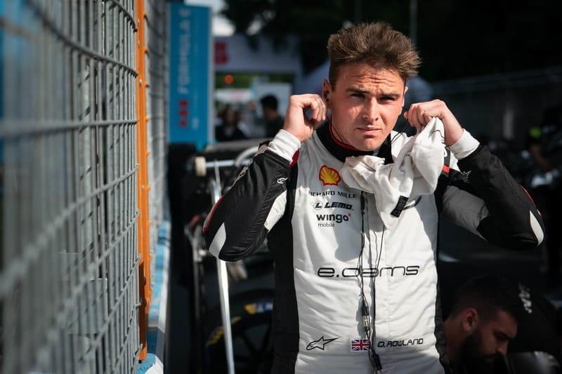 Oliver Rowland at start of Bern ePrix