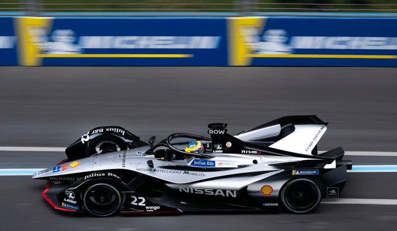 Oliver Rowland at 2019 Bern ePrix