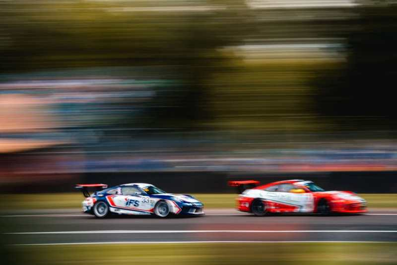 2019 Porsche Carrera Cup GB - Oulton Park - Dan Harper // Lewis Plato