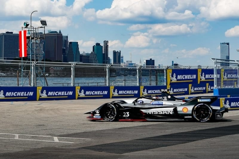 Sebastien Buemi wins first New York City ePrix