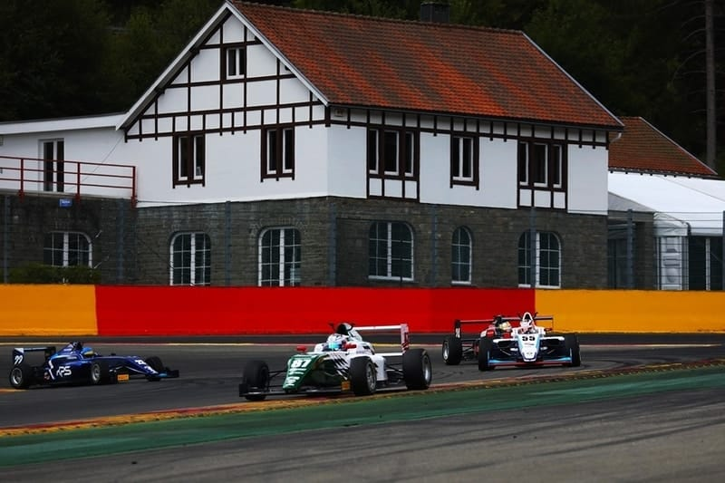 Ulysse De Pauw during race one at Circuit de Spa Francorchamps