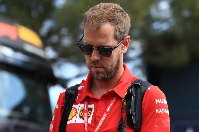 Vettel - Ferrari - Media
