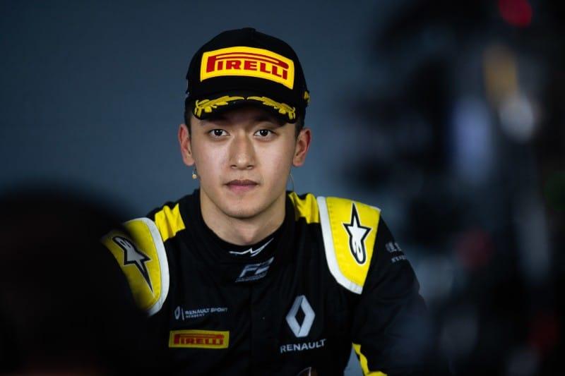 Zhou - Renault - Virtuosi Racing - F2