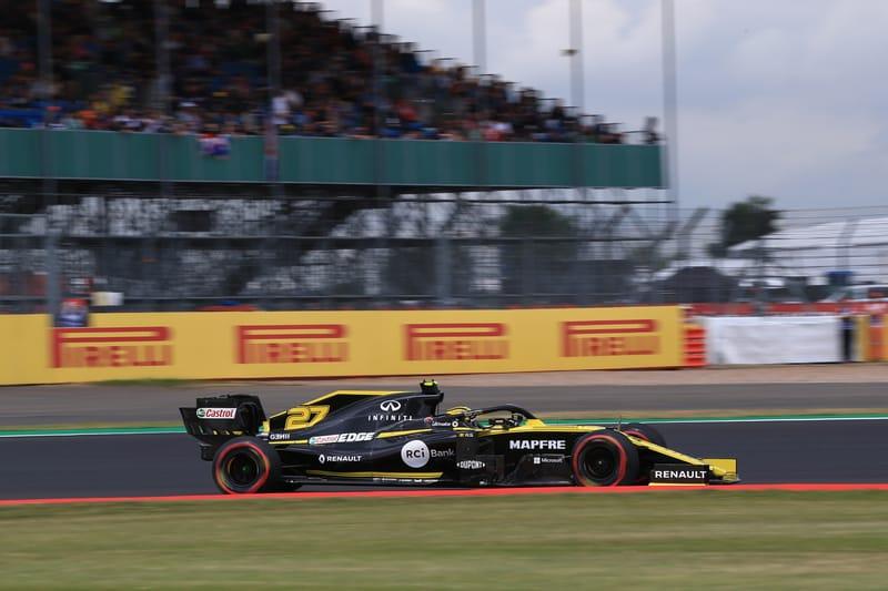 Nico Hülkenberg - Renault F1 Team at the 2019 Formula 1 British Grand Prix - Qualifying