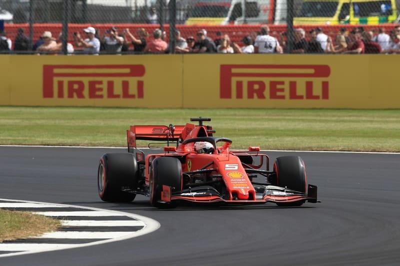 Sebastian Vettel - Formula 1 - 2019 British GP