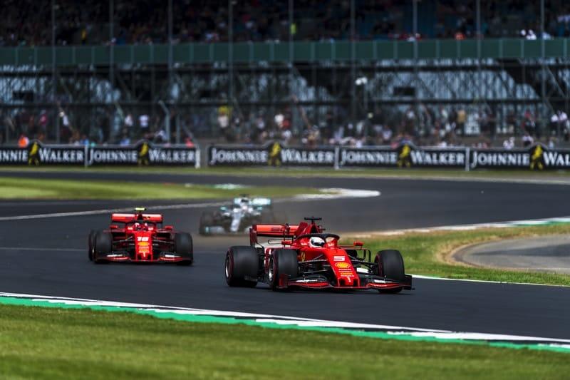 Sebastian Vettel & Charles Leclerc - Formula 1 - 2019 British GP