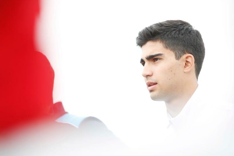 Juan Manuel Correa - Sauber F2