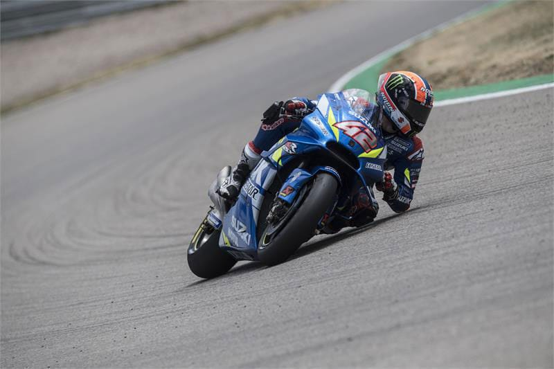 Rins seeks further improvements at Brno this weekend.