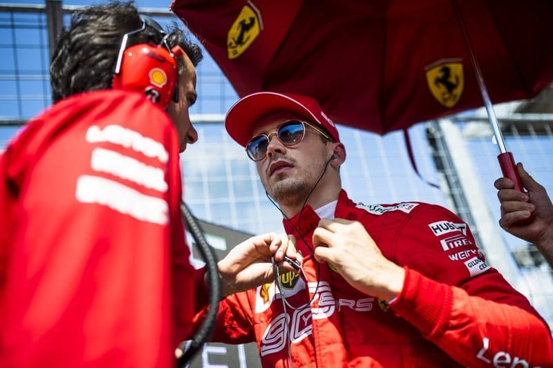 Charles Leclerc - Formula 1 - 2019 Hungarian GP