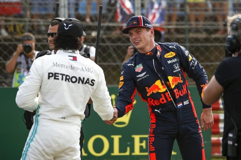 Lewis Hamilton & Max Verstappen - Formula 1 - 2019 Hungarian GP