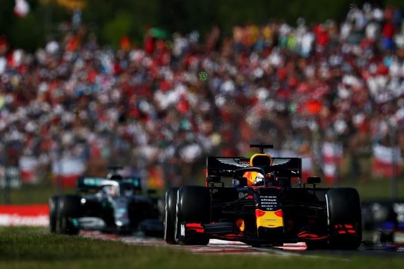 Max Verstappen & Lewis Hamilton - Formula 1 - 2019 Hungarian GP