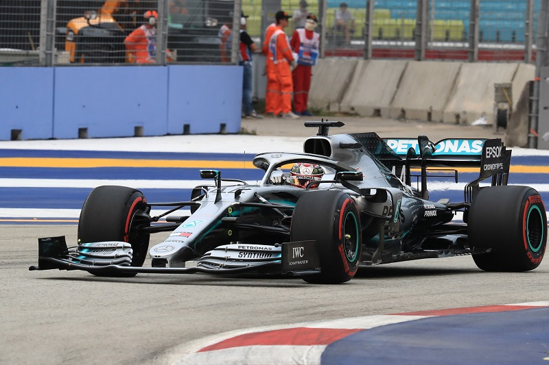 Hamilton, Mercedes Referred to Stewards for Alleged Fuel Temperature Breach - The Checkered Flag