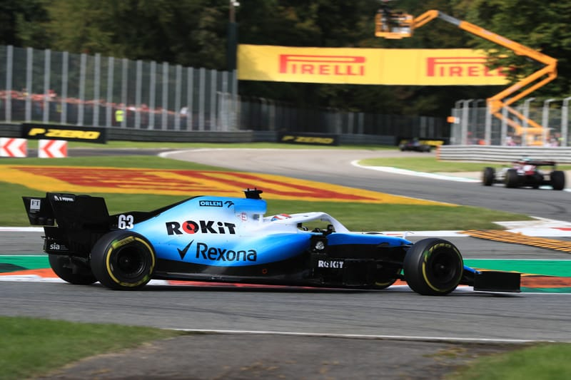 George Russell - ROKiT Williams Racing in the 2019 Formula 1 Italian Grand Prix - Autodromo Nazionale Monza - Race