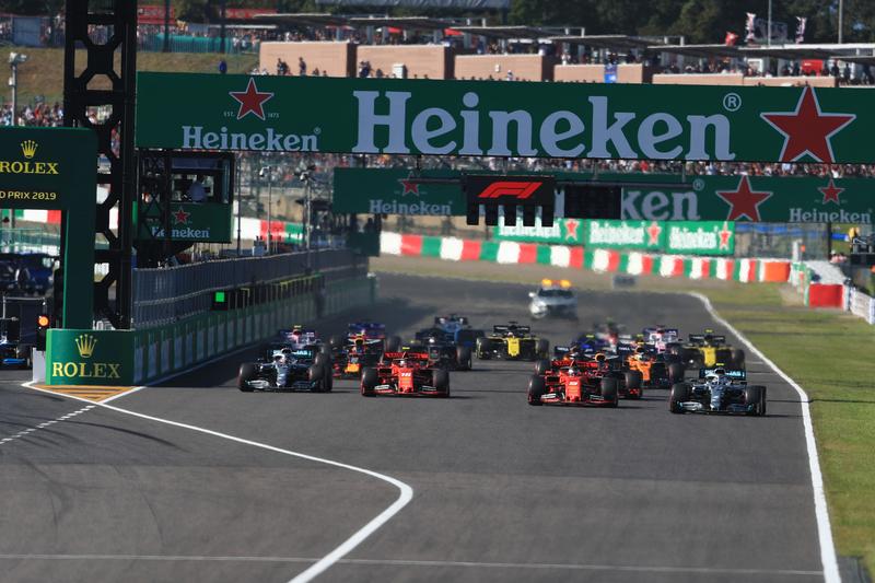 2019 Formula 1 Japanese Grand Prix - Suzuka International Racing Course - Race