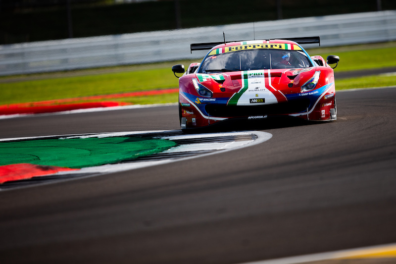 #51 AF Corse, GTE Pro Ferrari at 4 Hours of Silverstone, 2019