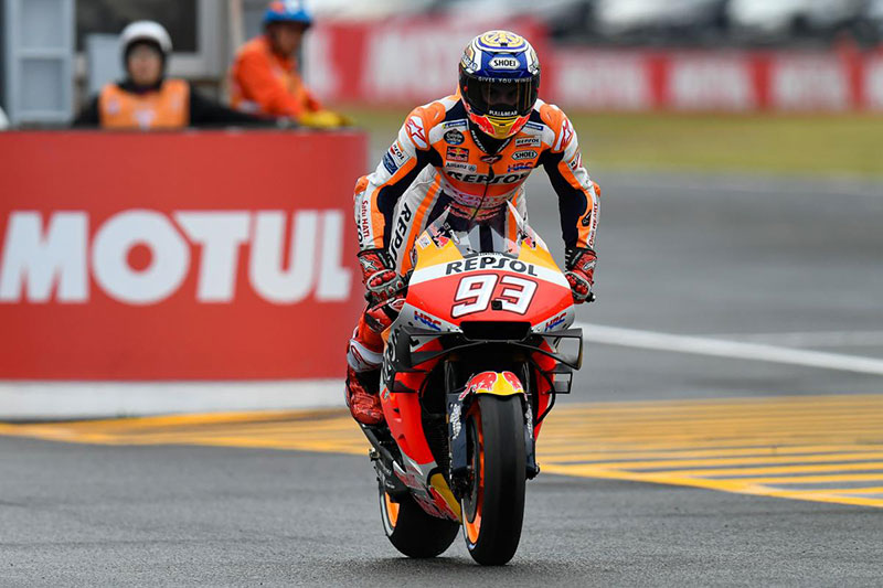 Marc Marquez Seals Japanese Grand Prix Pole