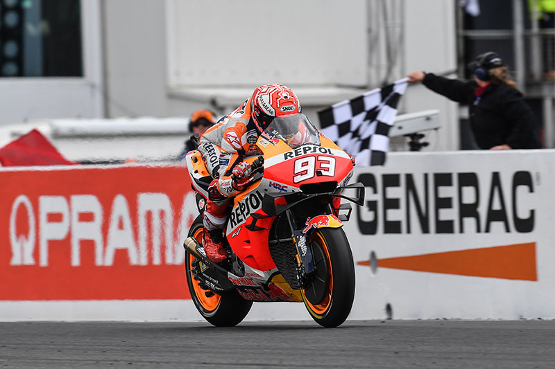 Marquez wins at Phillip Island