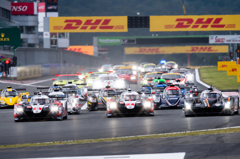 Start of the 6 Hours of Fuji, WEC 2019