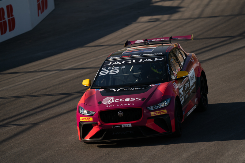 Simon Evans - Team Asia New Zealand in the 2019-20 Jaguar I-Pace eTrophy - Ad Diriyah - Race 1 - Free Practice