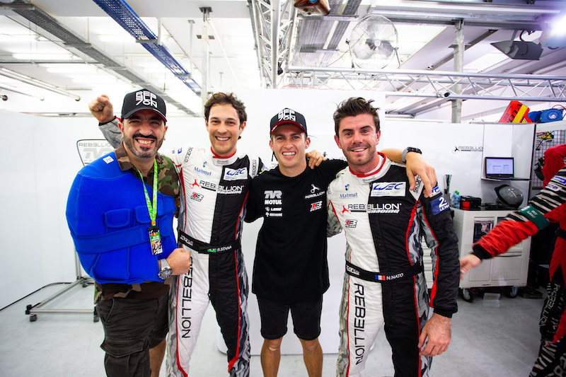 Overall pole sitters for the Bapco 8 Hours of Bahrain - Rebellion Racing