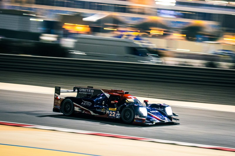 #22 United Autosports on track during the 8 Hours of Bahrain, 2019