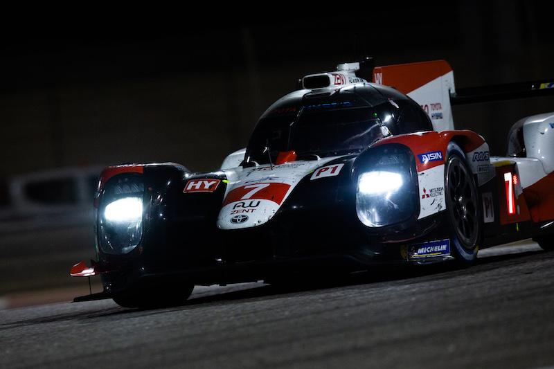 #7 Toyota Gazoo Racing on track at Bapco 8 Hours of Bahrain, 2019