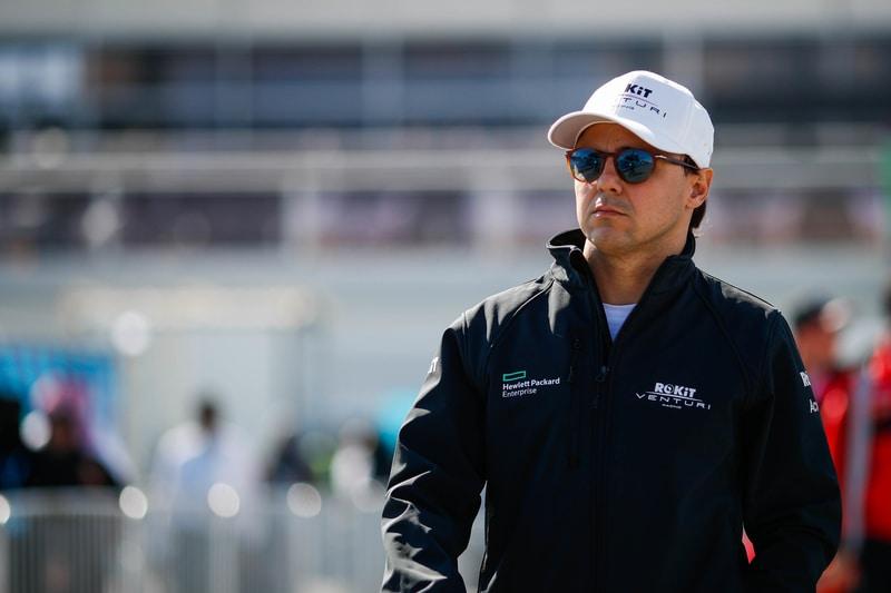 Felipe Massa ahead of Diriyah ePrix