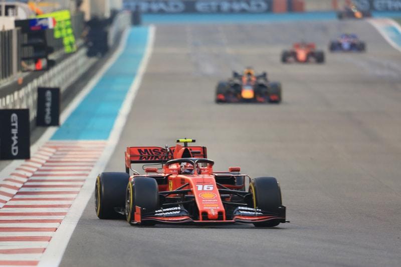 Charles Leclerc & Max Verstappen - Formula 1 - 2019 Abu Dhabi GP