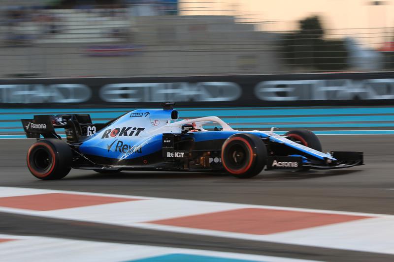 George Russell - ROKiT Williams Racing in the 2019 Formula 1 Abu Dhabi Grand Prix - Yas Marina Circuit - Qualifying