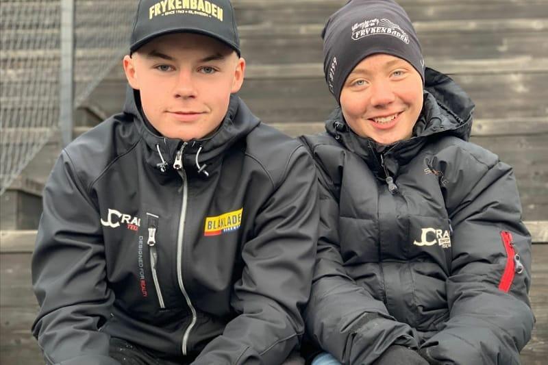 Isak Reiersen and Alex Gustafsson
