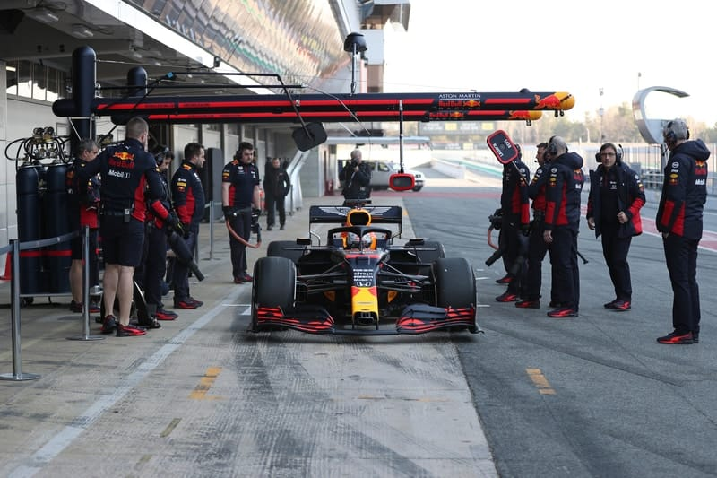 Red Bull Racing makes a solid start to pre-season testing - The Checkered Flag
