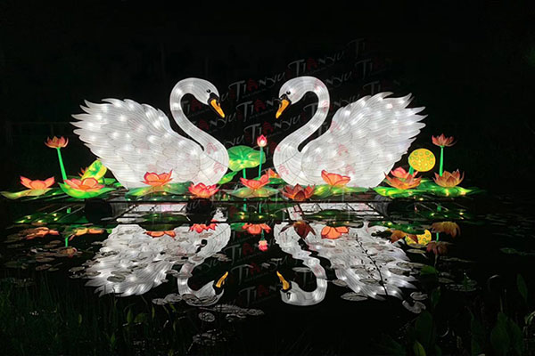 tianyu lantern festival swans